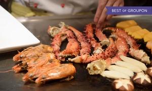 54% Off at Osaka Sushi and Hibachi Steakhouse at Osaka Sushi and Hibachi Steakhouse - Coon Rapids, plus 9.0% Cash Back from Ebates.