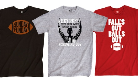 Men's Football Graphic Tees