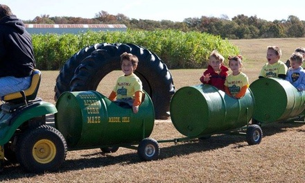 Corn Maze and Pumpkin Patch Admission for Two, Four, or Six at Rustic Acres (Up to 46% Off)
