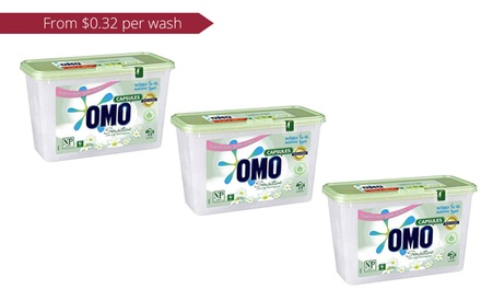 $39 Omo Sensitive Skin Laundry Liquid Capsules for Top and Front Loaders