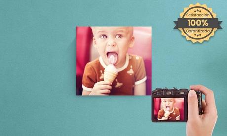 ¡Especial Black Friday! Foto-lienzo con Printerpix (descuento del 93%) -  Gastos de envío no incluidos