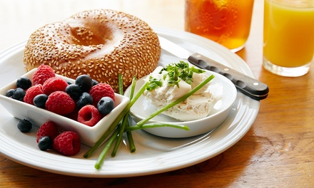 Bagels, Coffee, and More at Bagel King (Up to 41% Off)