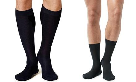 24 paia di calze in filo di Scozia