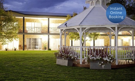 Mudgee: Up to 3 Nights for Up to 4 with Breakfast and Late CheckOut at 4* The Parklands Resort