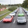 Pilotage en Ferrari,Mustang, Porsche, Lamborghini, Nissan