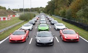 Pilotage en Ferrari,Mustang, Porsche, Lamborghini, Nissan, Mercedes