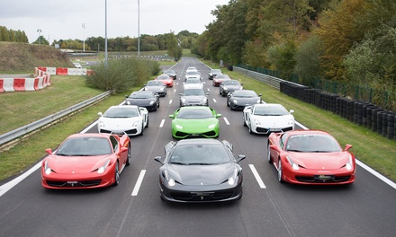 Stage de Pilotage 2,3, ou 4 tours en Ferrari, Porsche, Lamborghini, Nissan, Mercedes dès 49 € avec Motors Consulting
