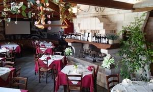 RISTORANTE ALLA CESA: Fino a 3 kg di costata Black Angus con vino per 2, 4 o 6 persone da Ristorante alla Cesa (sconto fino a 62%)