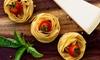 £10 Towards Italian Food