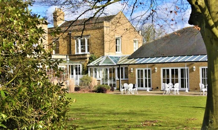 Kent: 1 Night for Two with Breakfast, Dinner and Murder Mystery Event with Disco at Hadlow Manor Hotel
