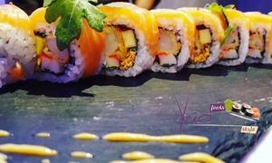 Yao Restaurant: Menu sushi con dolce e calice di Chardonnay al ristorante Yao Restaurant (sconto fino a 57%)