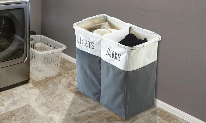 Large Laundry Sorter Amazing Up To 60% Off Large Folding Laundry Sorter Groupon