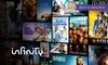 Infinity TV: Infinity TV: 3 mesi di Film e Serie TV senza limiti e vincoli di abbonamento a soli 7,99 €