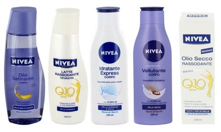 Prodotti Nivea per il corpo