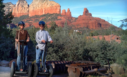 Segway X2 Off-Road Tour for One Person (an $85 value) - Adventures Out West in Fort McDowell