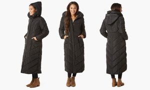Steve Madden Women's Chevron Coat. (Size L)
