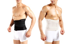Men's Adjustable Double-Compression Waist-Slimming Belt at Men's Adjustable Double-Compression Waist-Slimming Belt, plus 6.0% Cash Back from Ebates.