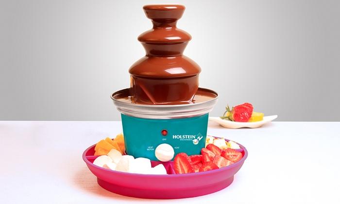 Fondue Fountain: Chocolate Fondue Fountain. Free Shipping and Returns.