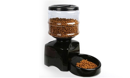 One or Two Automatic Pet Feeder with DigitalDisplay Timer