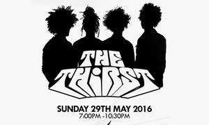 The Thirst: One Ticket to See The Thirst Live, 29 May at Electric Brixton (Up to 55% Off)