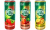 Cans of Perrier and Juice 250ml