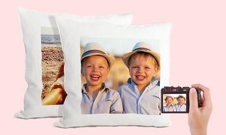 1 o 2 fundas de cojín con foto personalizada desde 7,99 € con Printerpix