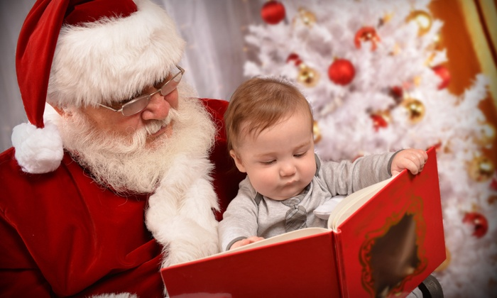 Landers Photography - Northwest San Antonio: $59 for a Family Photo with Santa with Print and CD from Landers Photography ($125 Value)
