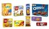 Groupon Goods Global GmbH: 1 ou 2 Box de Biscuits multi marques (Oreo, Milka, Prince, Belvita, LU, Grany, Pim's)