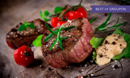Sirloin Steak on the Stone For Two at Raff's On The Corner (48% Off)