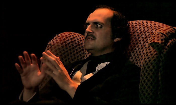 "Poe: In His Own Words A One-Man Show - Warner Grand Theatre: ""Poe: In His Own Words"" on Sunday, October 25, at 3 p.m."