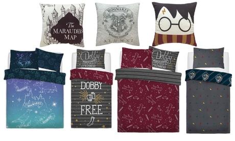 Cuscini o parure copripiumino Harry Potter Warner Bros disponibile in 3 dimensioni e varie fantasie