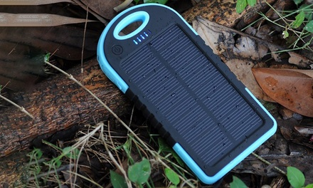 One, Two or Three SolarPowered 5000mAh Powerbanks