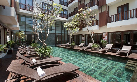 Bali, Seminyak: From $139 for a Tropical Escape for Two People with Breakfast and WiFi at Sense Hotel Seminyak
