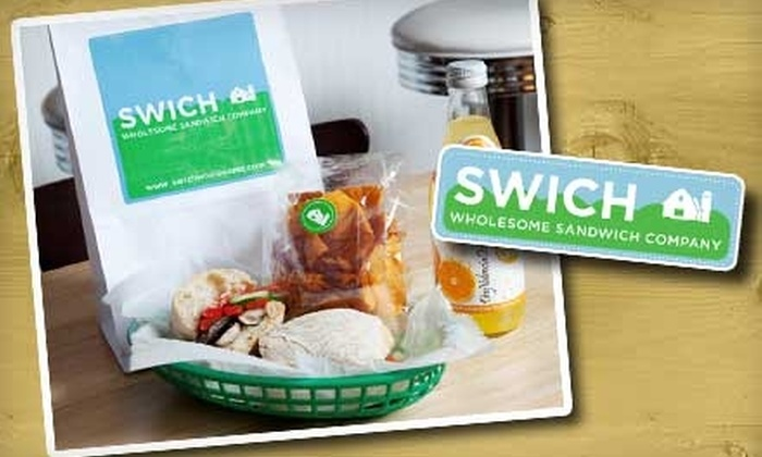 Swich Wholesome Sandwich Company - Chelsea: $3 for $7 Worth of Fresh-Made Sandwiches and More at Swich Wholesome Sandwich Company