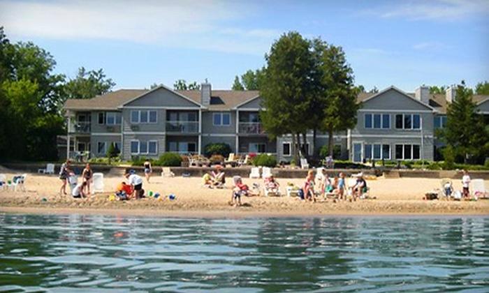 Sand Bay Beach Resort - Sturgeon Bay: $110 for a Two-Night Stay for Two at Sand Bay Beach Resort (Up to $220 Value)