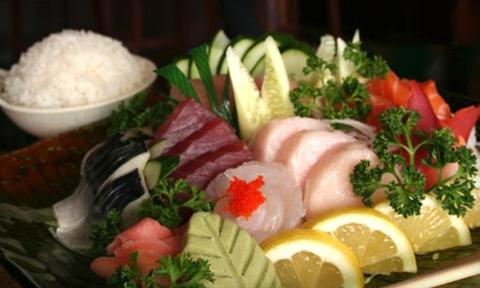 Wasabi Steakhouse & Sushi Bar - Janaf,Broad Creek: $12 for $25 Worth of Sushi and Hibachi Fare for Dinner at Wasabi Steakhouse & Sushi Bar in Norfolk