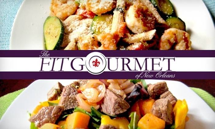 The Fit Gourmet of New Orleans - New Orleans: $20 for Three Delivered Meals from The Fit Gourmet of New Orleans (Up to $40.50 Value)