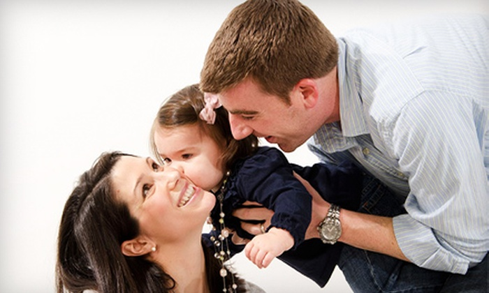 Bellies, Babies & More Photography - Smith Mills: $60 for Family Portrait Package With Holiday Cards at Bellies, Babies & More Photography in Dartmouth ($595 Value)