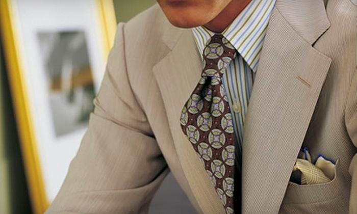 J. Barbaro Clothiers - Multiple Locations: Complete Men's or Women's Custom Suit or a Custom Suit with Two Custom Shirts at J. Barbaro Clothiers