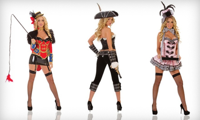 Tabu Lingerie - Multiple Locations: $15 for $30 Worth of Sexy Halloween Costumes and Accessories at Tabu Lingerie