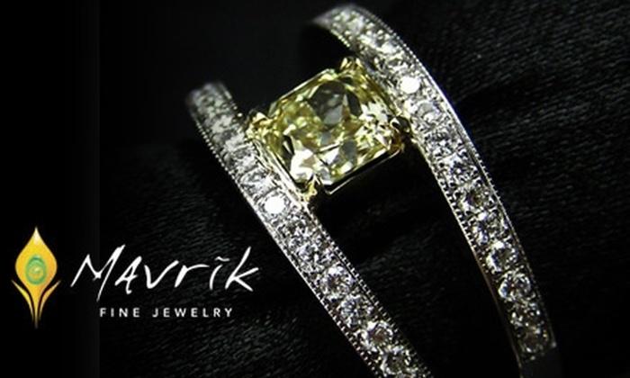 55 Off At Mavrik Fine Jewelry