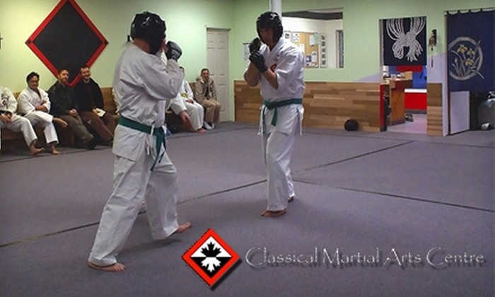 Classical Martial Arts Centre - Waterloo: $38 for a Three-Month Membership and Free Uniform at Classical Martial Arts Centre ($84.75 Value)
