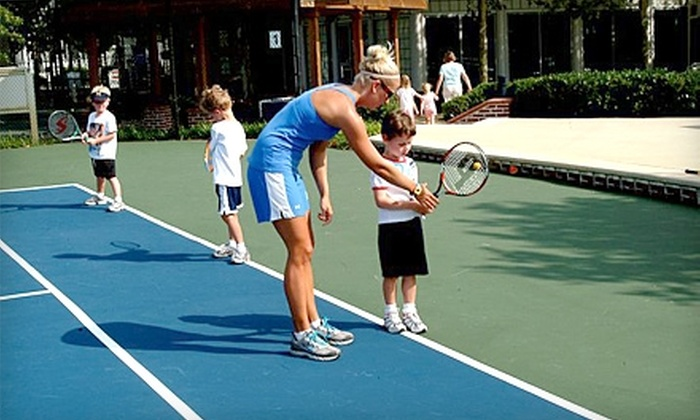 Marty Godwin Tennis - Multiple Locations: $10 for an Adult Tennis Clinic or Cardio Workout ($20 Value) or $20 for a Kids' Tennis Camp ($40 Value) at Marty Godwin Tennis