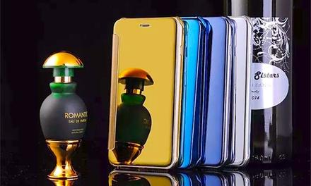Funda efecto espejo para iPhone