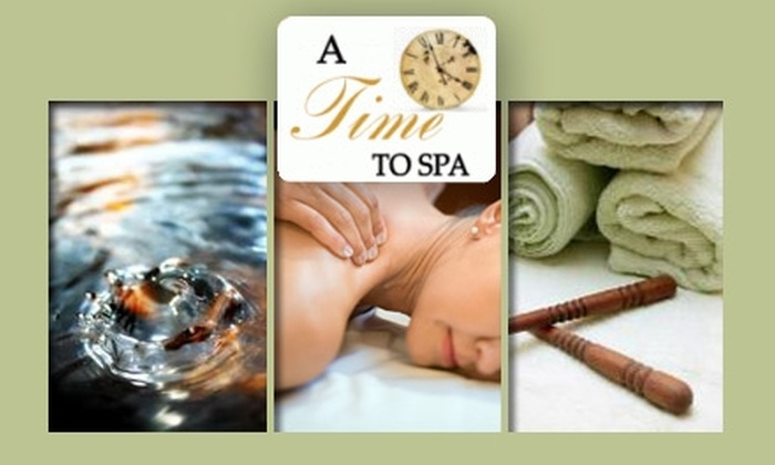 A Time to Spa - Olmsted Falls: $32 One-Hour Aromatherapy Massage at A Time to Spa ($65 Value)