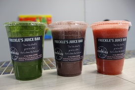 Freckle's Juice: $9 For Smoothies at Freckle's Juice ($18 Value)