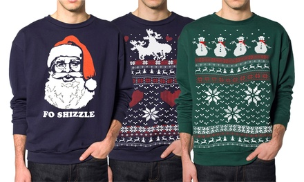 Skip N' Whistle Men's Ugly Sweatshirts