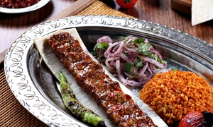Istanbul Palace Restaurant: Turkish Meze Feast with Drinks for Two, Four or Eight at Istanbul Palace Restaurant (Up to 59% Off)