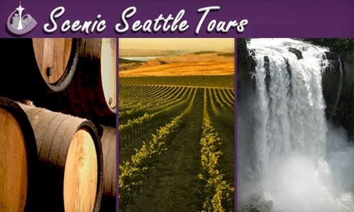 Customized Tours and Charter Service - Multiple Locations: $41 for a Guided Snoqualmie Falls & Winery Tour