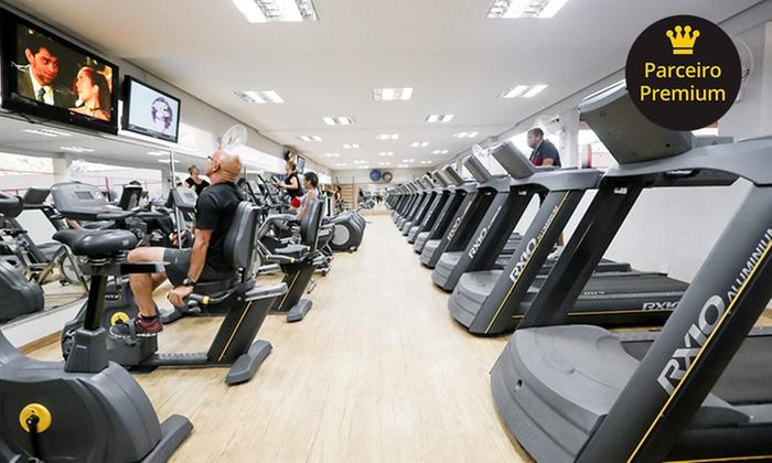 1, 3 ou 6 meses de plano básico fitness ou completo na ACM Brasília – Asa Sul – parcele em até 12x sem juros